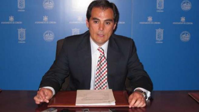 Nieto En Sala De Prensa Tras El Pleno
