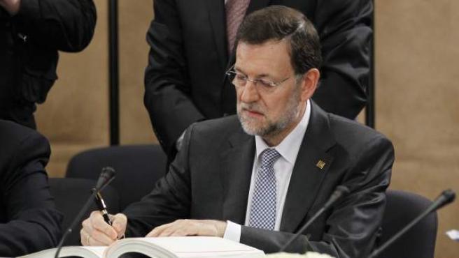El presidente español, Mariano Rajoy.