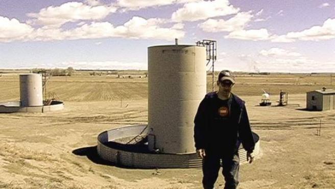 Josh Fox, director del documental 'Gasland' (2010), ganador del premo del Jurado en Sundance, y que denuncia el efecto del 'fracking' sobre la salud y el mediambiente.