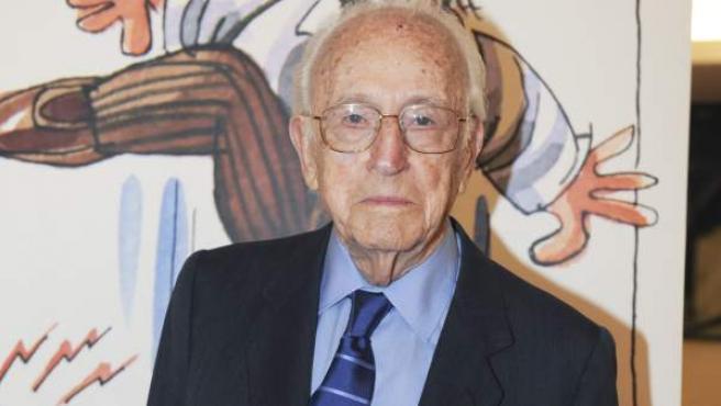 El dibujante y humorista Antonio Mingote.