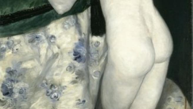 'El muchacho y el gato' (1868), una de las obras tempranas de Renoir incluídas en la muestra