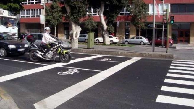 Señalética Viaria Específica Para La Circulación De Motos En La Ciudad