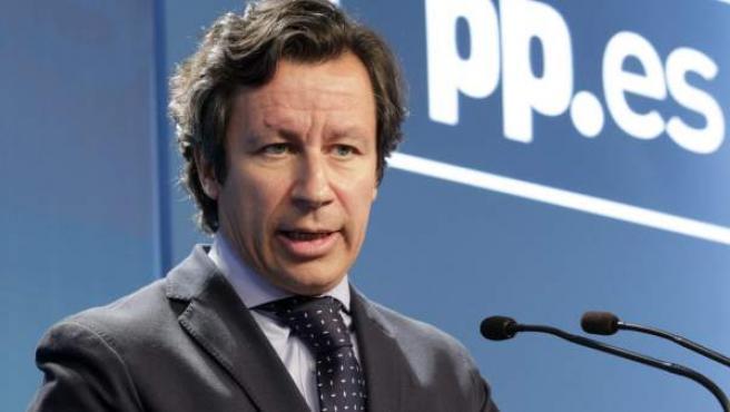 El vicesecretario de Organización del Partido Popular, Carlos Floriano.