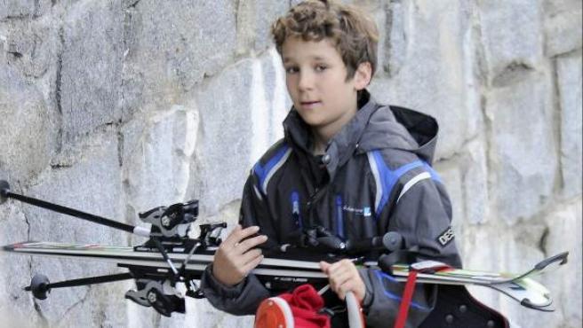 Una imagen reciente del infante Felipe Juan Froilán.