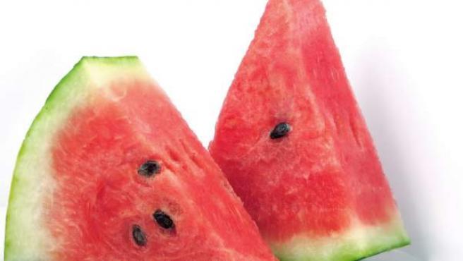 La sandía, una fruta con muchas propiedades, también en su corteza.