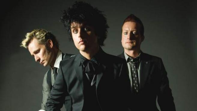 El trío californiano Green Day, en una foto promocional.