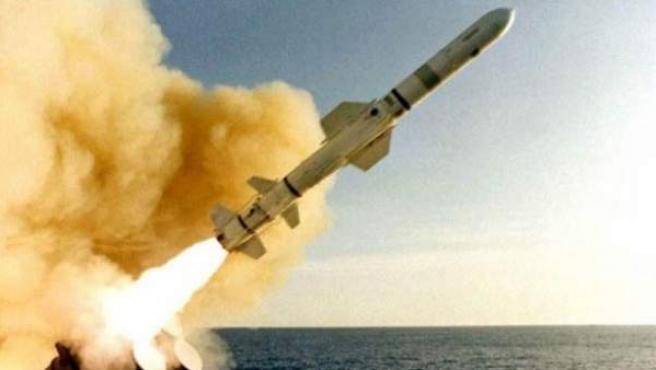 Un misil harpoon, en una imagen de archivo.