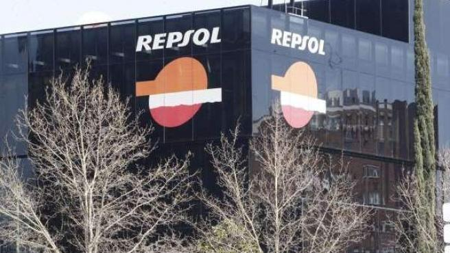Edificio de Repsol YPF en Madrid.