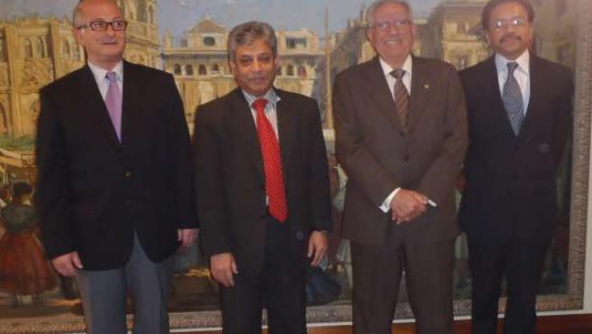 El Embajador De Bangladesh Busca Mejorar Las Relaciones Comerciales Con Murcia
