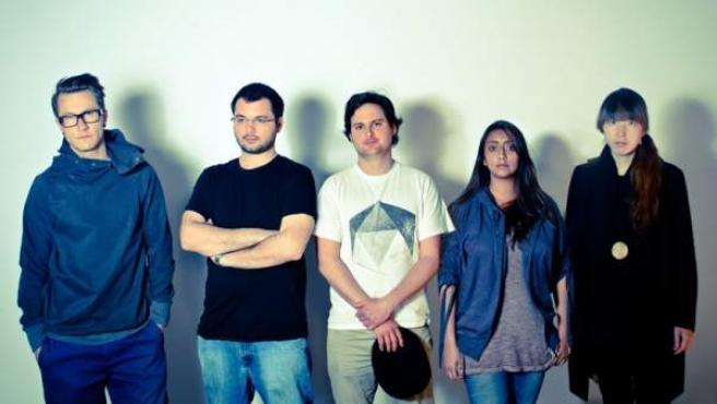 Los artistas participantes en el proyecto European Souvenirs.