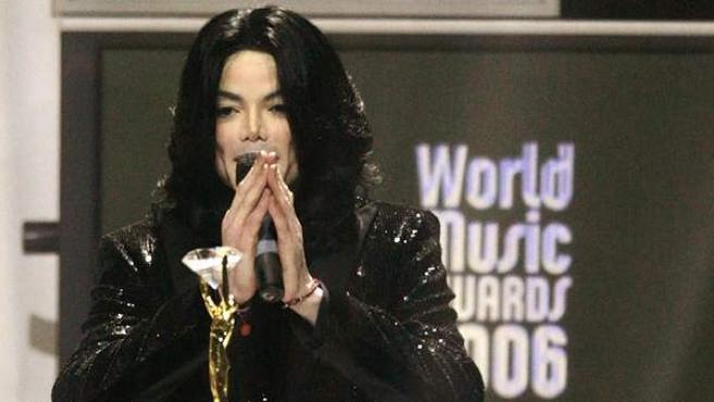 Michael Jackson, en los World Music Awards londinenses de 2006.
