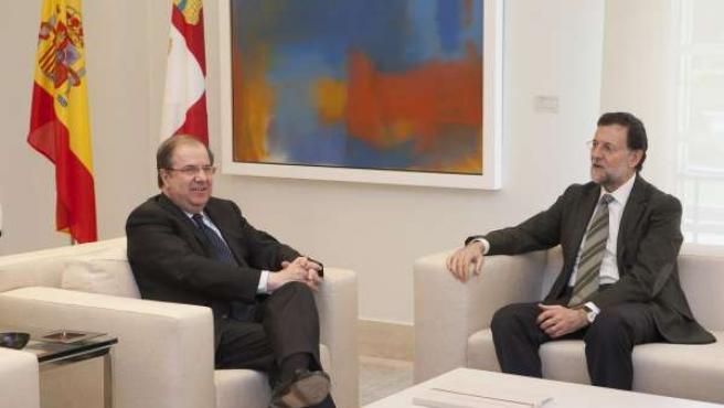 Reunión Entre Mariano Rajoy Y Juan Vicente Herrera