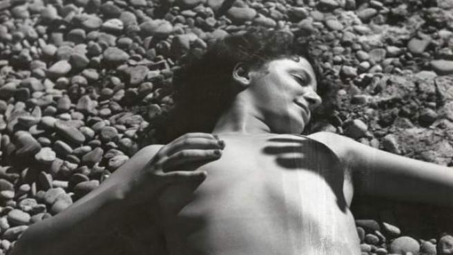 Uno de los desnudos de Gomis expuestos en Barcelona
