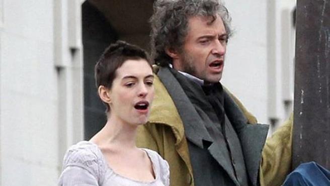 Los Miserables Vídeos Filtrados Con Anne Hathaway Y Hugh Jackman Cantando