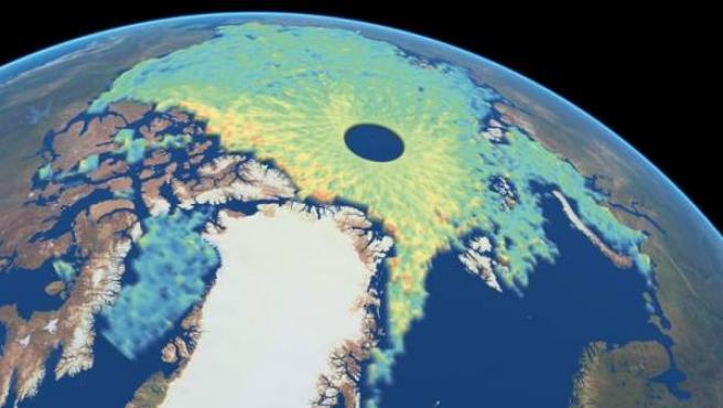 Hielos del Ártico.