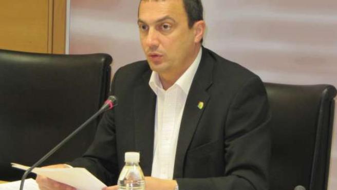 El Portavoz De Izquierda Unida-Verdes En La Asamblea Regional