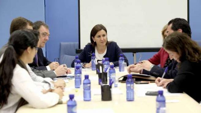 Català En Su Reunión Con Los Sindicatos