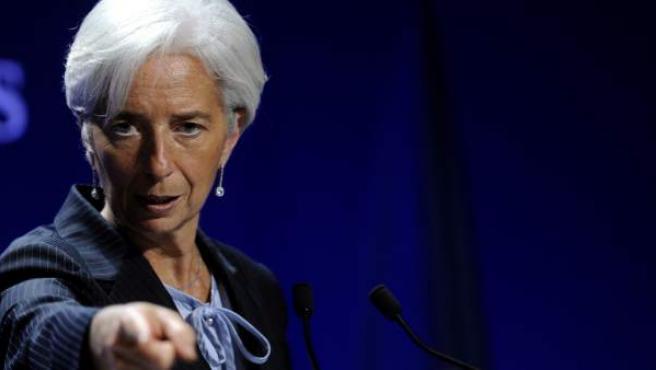 Christine Lagarde, directora gerente del Fondo Monetario Internacional (FMI).
