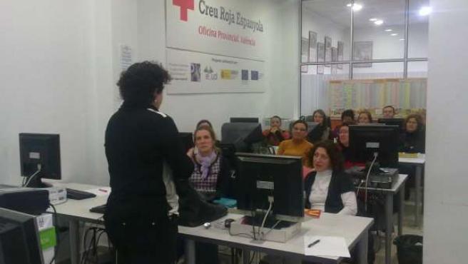 Ciberaula De Cruz Roja En Valencia