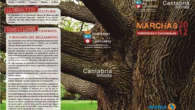 Programa De Marchas Turísticas Y Culturales 2012 Del Gobierno De Cantabria