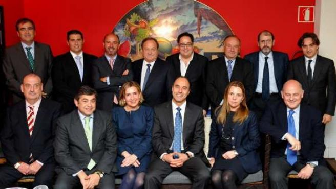Reunión Entre Ignacio Diego Y El Comité Ejecutivo De CEOE-Cepyme