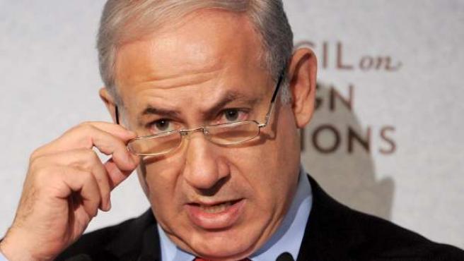 Imagen de archivo del primer ministro israelí, Benjamin Netanyahu.