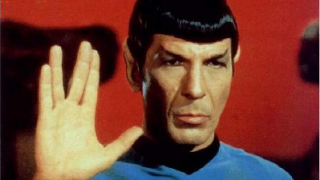 Leonard Nimoy como Mr. Spock, en 'Star Trek'.
