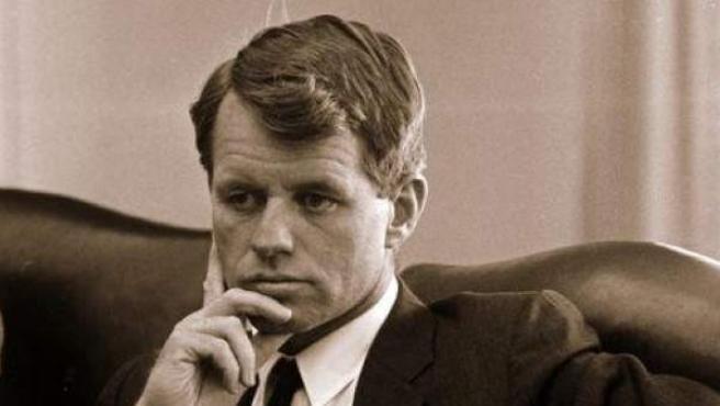 El senador demócrata Robert Kennedy.