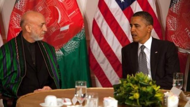 Obama y Karzai, en una imagen de archivo.