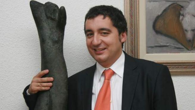 El consejero de Cultura de Murcia, Pedro Alberto Cruz, en una imagen de archivo.