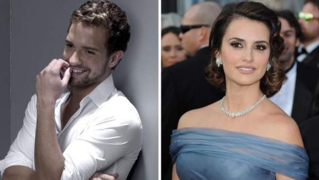 El cantante Pablo Alborán y la actriz Penélope Cruz.