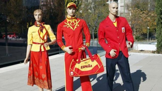 Uniforme de España para los Juegos de Londres 2012.