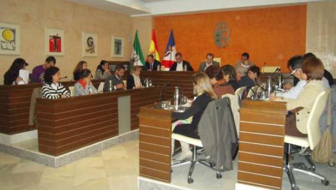 El Pleno Del Ayuntamiento De Almonte.