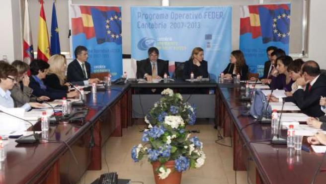 La Consejera De Economía Y Hacienda Presidió La Reunión Del Comité De Seguimient