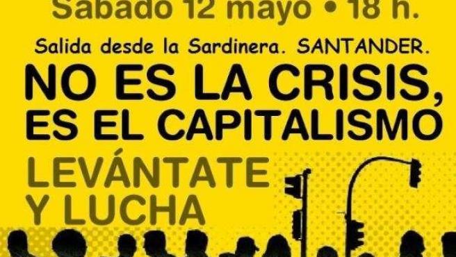 Cartel Manifestación 12M-15M