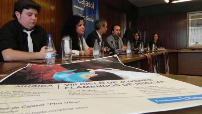 Presentación Del VIII Ciclo 'Jóvenes Flamencos De Huelva'.