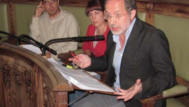 El Grupo De Izquierda Unida En El Pleno Del Ayuntamiento