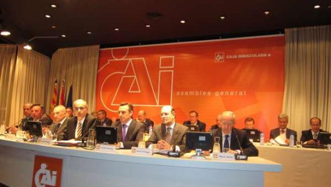 Asamblea General Ordinaria De Caja Inmaculada (CAI) En Zaragoza