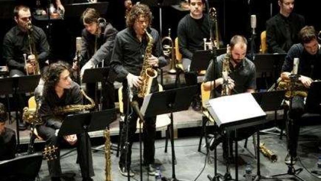La Musikene Big Band.