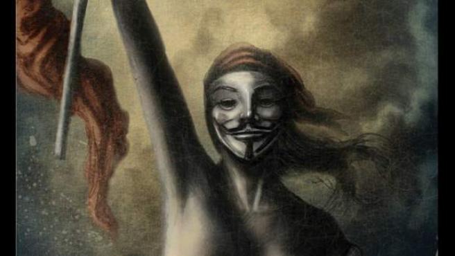 Viñeta de '15-M. Voces de una revolución'.
