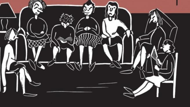 Cubierta de 'Flannery O'Connor: The Cartoons', el libro que reúne toda la obra gráfica de la aclamada escritora