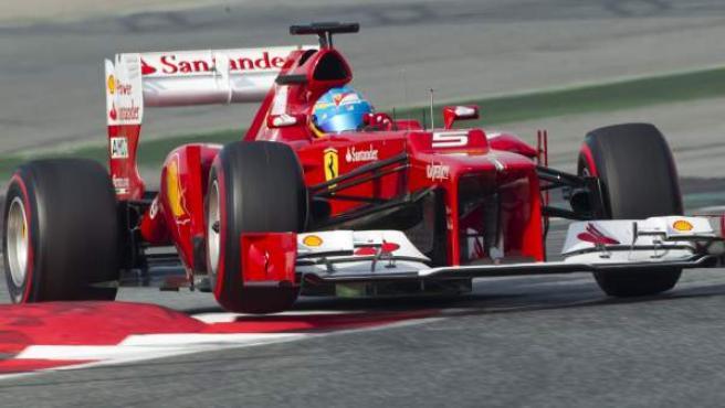 Fernando Alonso, piloto de Ferrari.