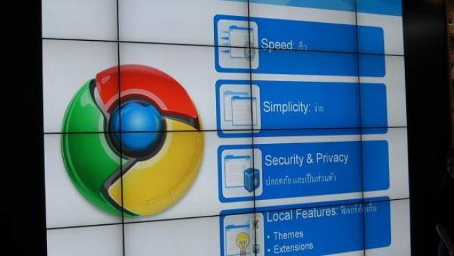 Evento de Google Chrome en Bangkok.