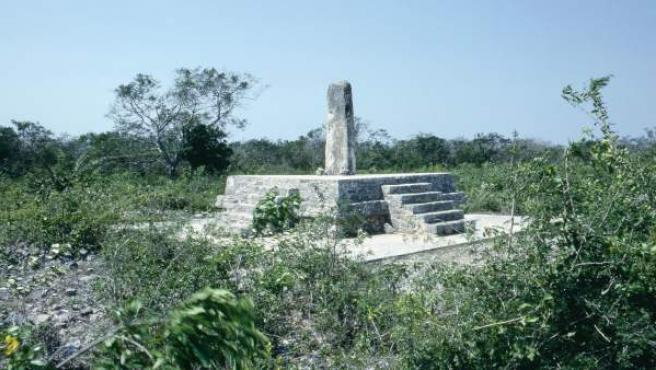 Construcción maya en México que servía de observatorio astronómico.