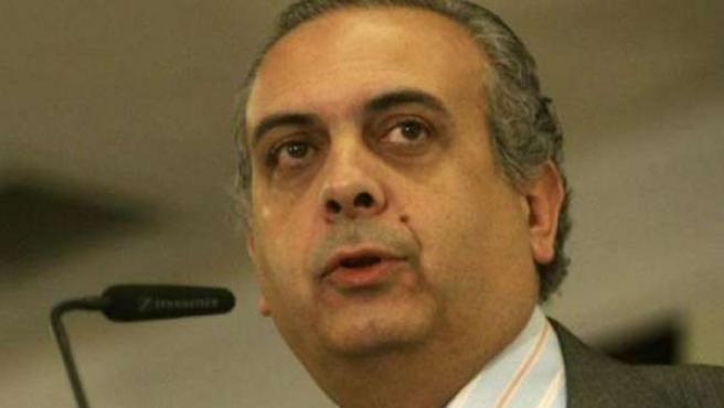 José Luis Sáez, presidente de la Federación Española de Baloncesto.