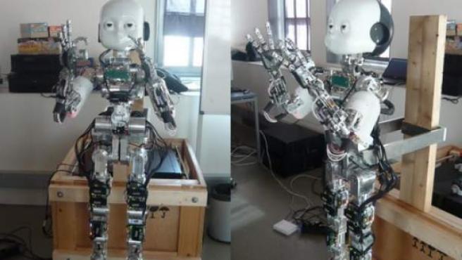 iCub, un niño robot que aprende a interactuar con los humanos.