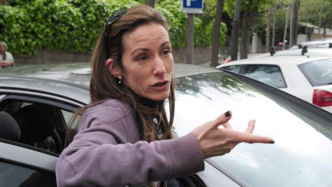 Telma Ortiz, en una foto tomada en abril de 2012 en Barcelona.