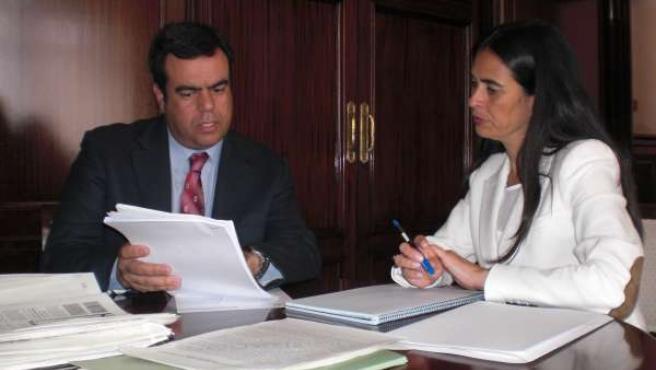 Melchor Camón Y María Del Carmen Hernández Bento