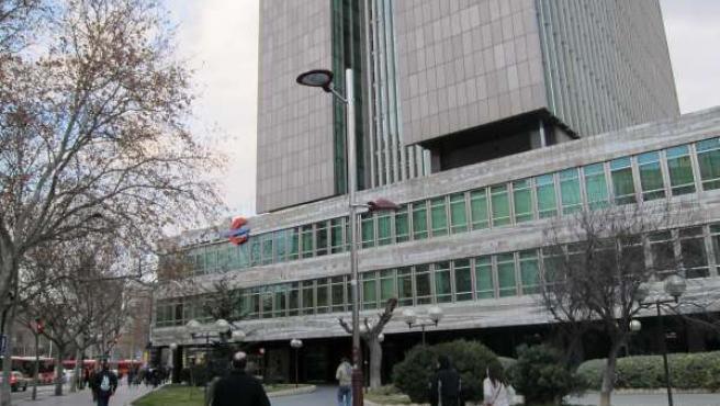 Sede Central De Ibercaja.