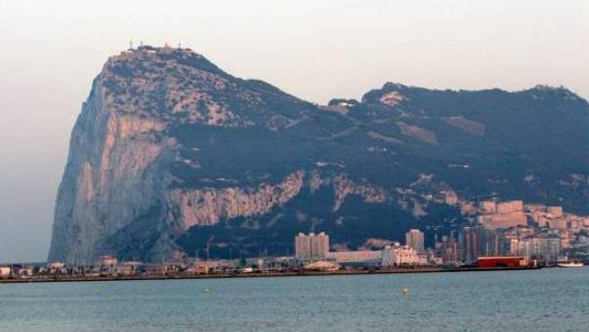 Imagen de archivo del Peñón de Gibraltar.